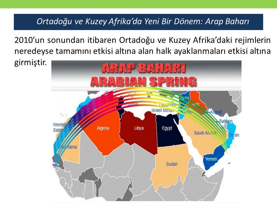 Ortadoğu ve Kuzey Afrika'da Yeni Bir Dönem: Arap Baharı