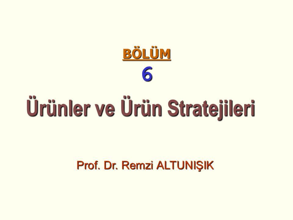Ürünler ve Ürün Stratejileri