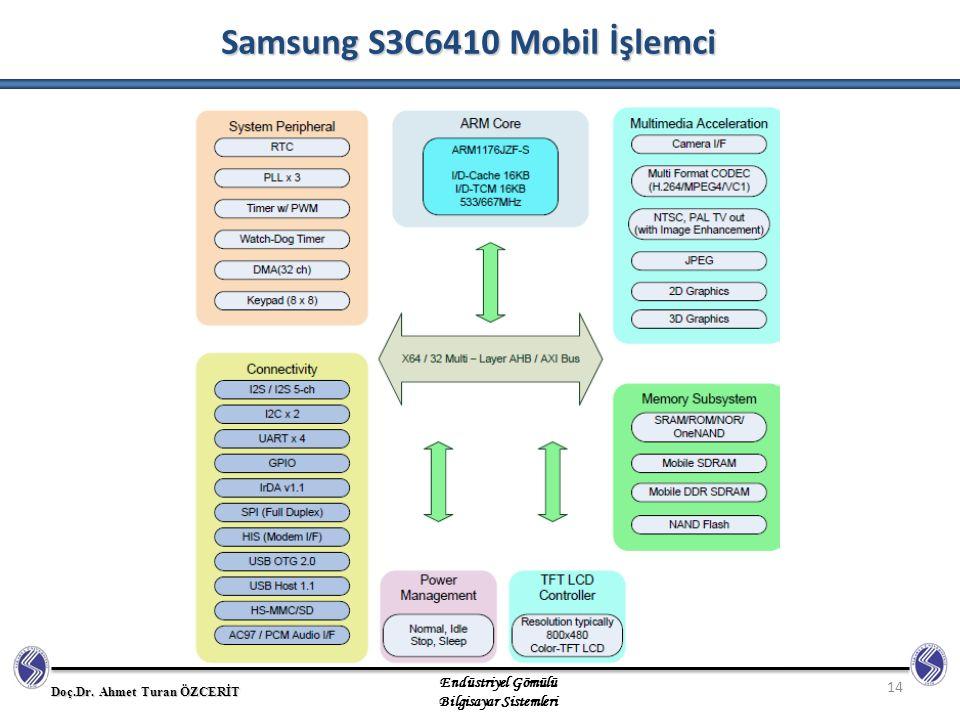 Samsung S3C6410 Mobil İşlemci