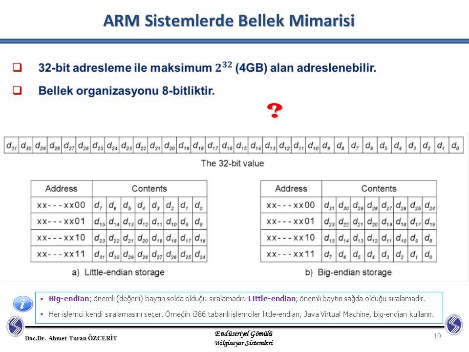 ARM Sistemlerde Bellek Mimarisi
