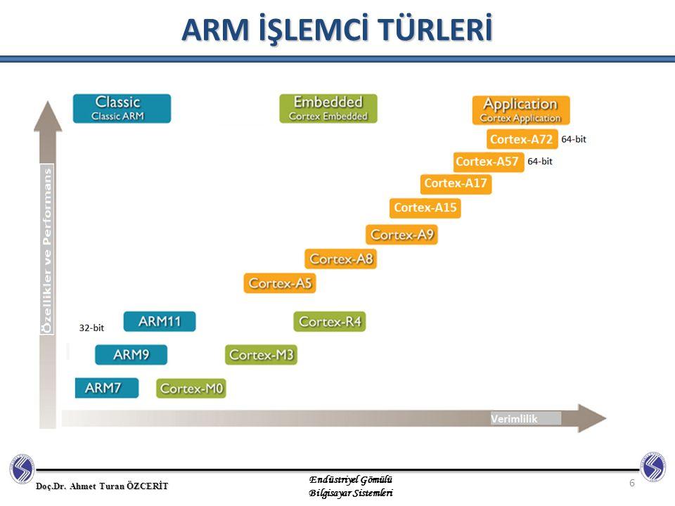 ARM İŞLEMCİ TÜRLERİ 6