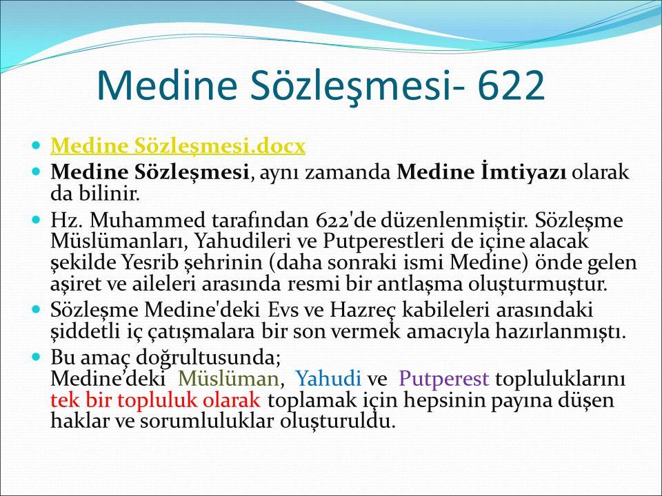 Medine Sözleşmesi- 622 Medine Sözleşmesi.docx