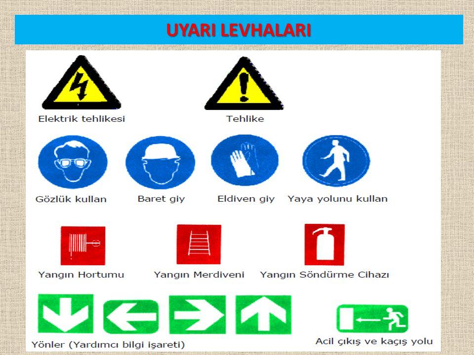 UYARI LEVHALARI