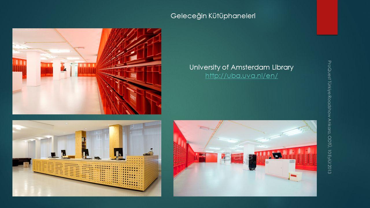 Geleceğin Kütüphaneleri