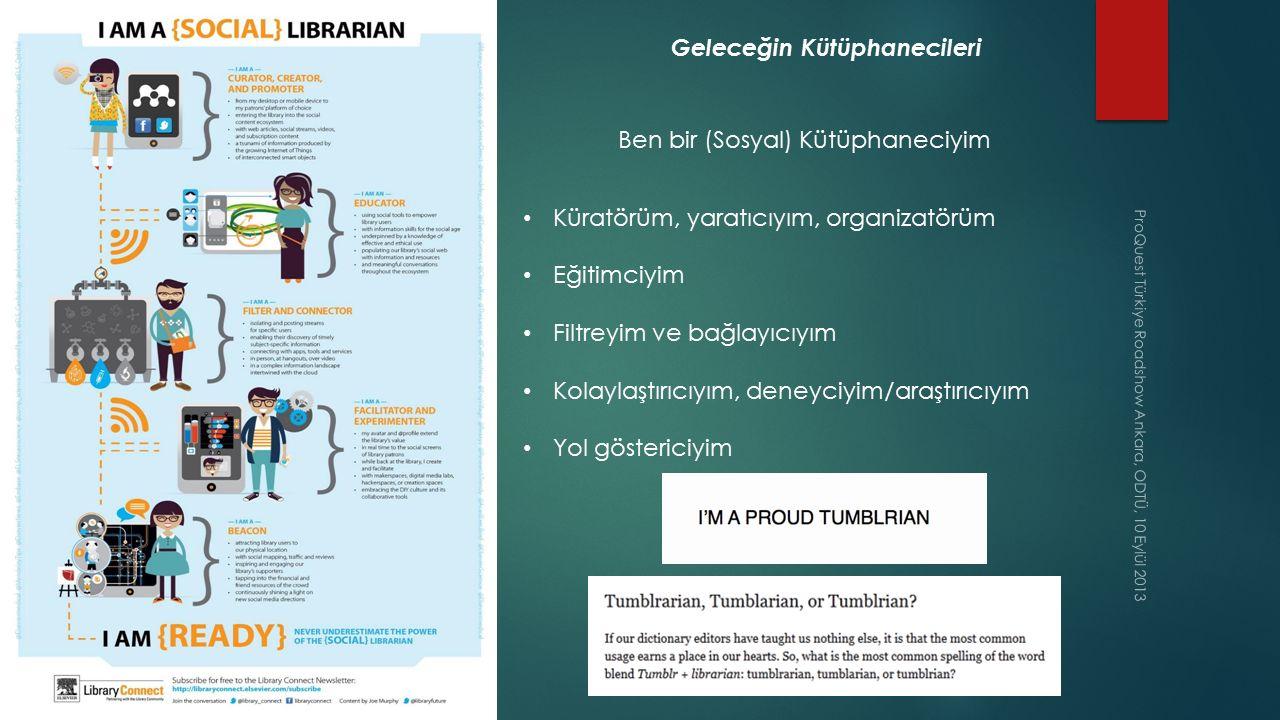 Geleceğin Kütüphanecileri