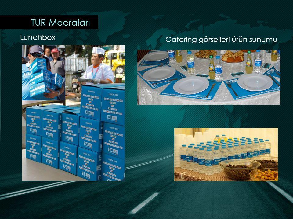 TUR Mecraları Lunchbox Catering görselleri ürün sunumu