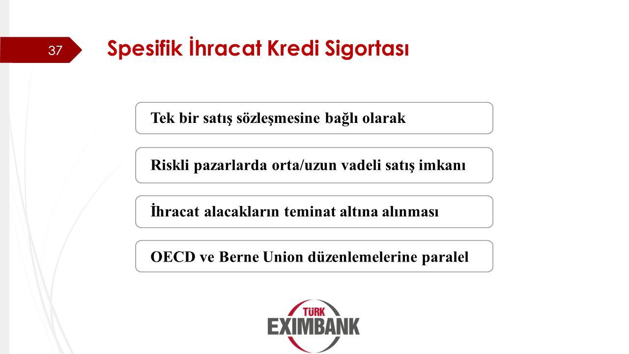 Spesifik İhracat Kredi Sigortası