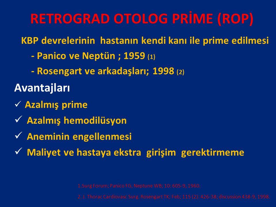 RETROGRAD OTOLOG PRİME (ROP)