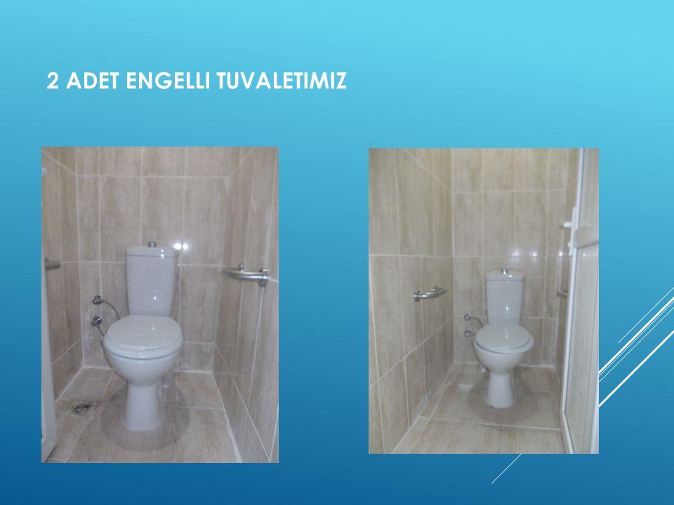 2 Adet Engelli tuvaletimiz