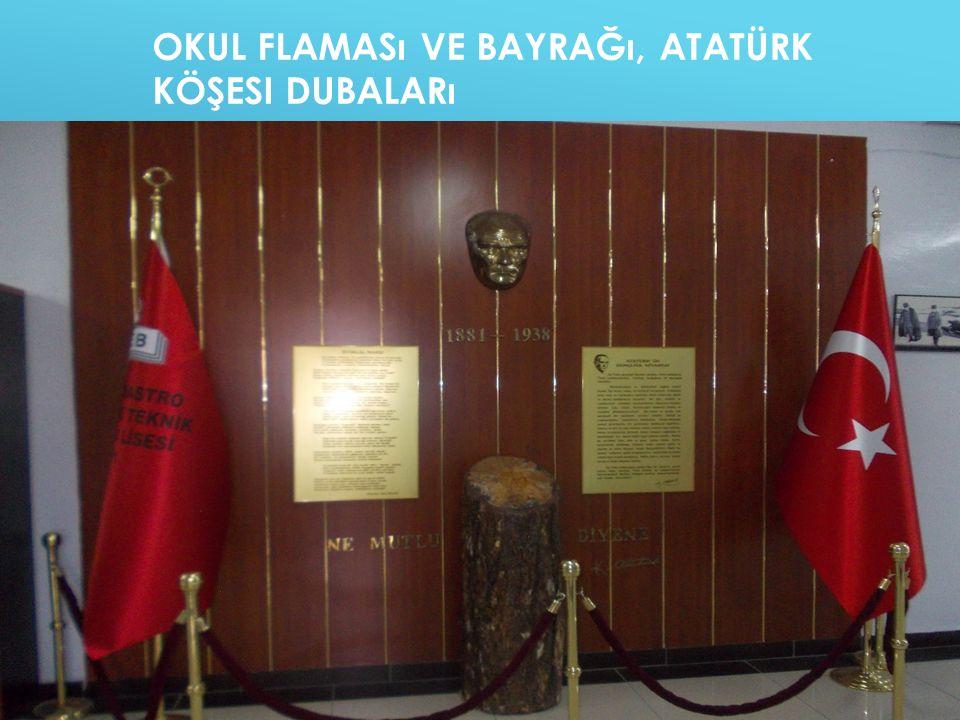 Okul Flaması ve Bayrağı, Atatürk Köşesi Dubaları