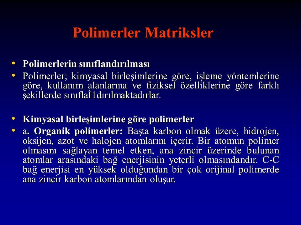 Polimerler Matriksler