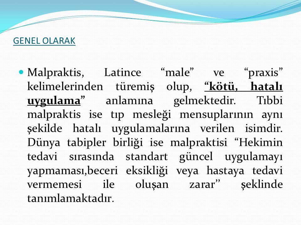 GENEL OLARAK