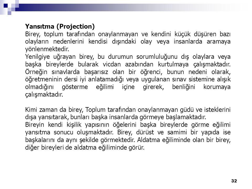Yansıtma (Projection)