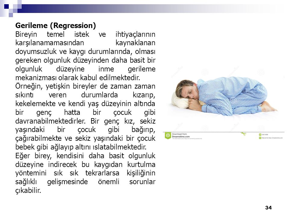 Gerileme (Regression)