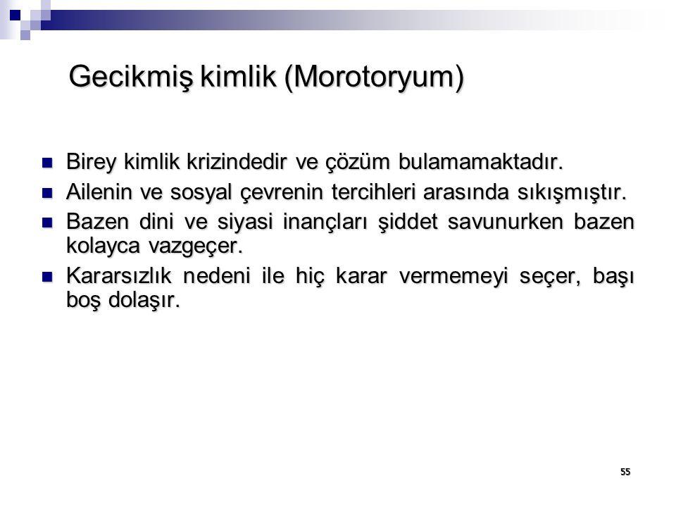 Gecikmiş kimlik (Morotoryum)