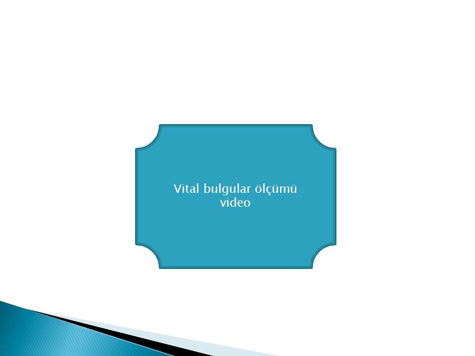 Vital bulgular ölçümü video