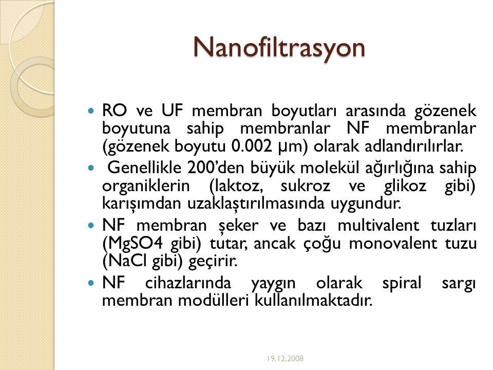 Nanofiltrasyon