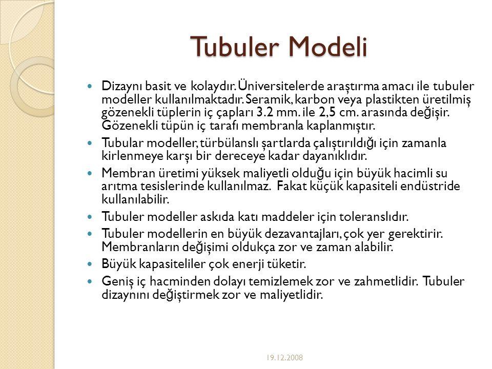 Tubuler Modeli