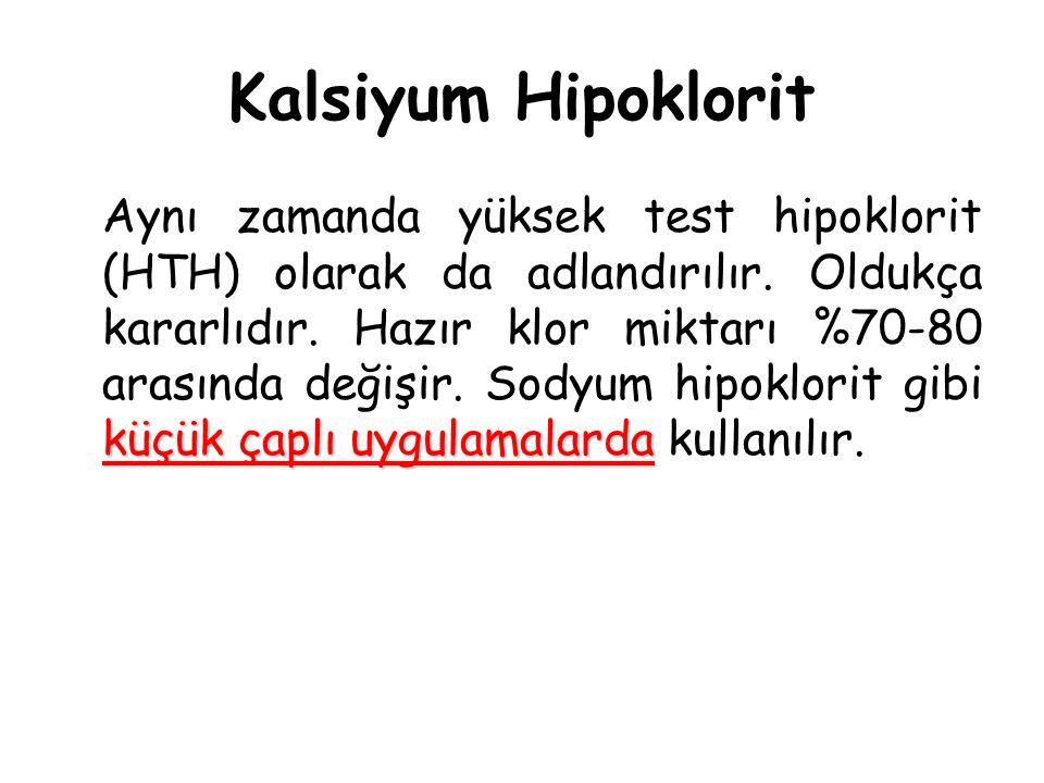 Kalsiyum Hipoklorit