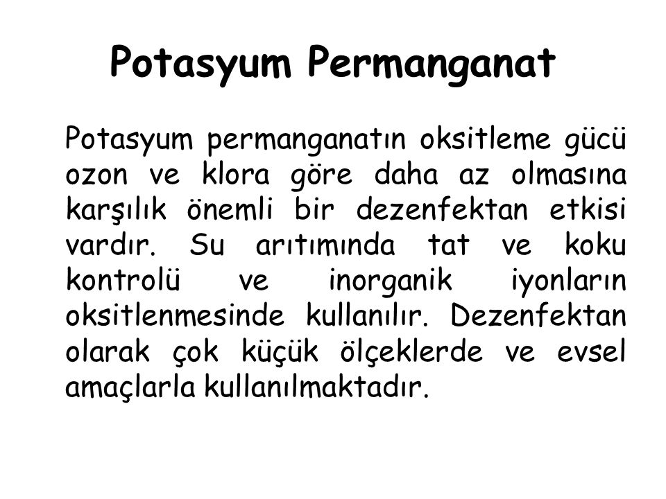 Potasyum Permanganat