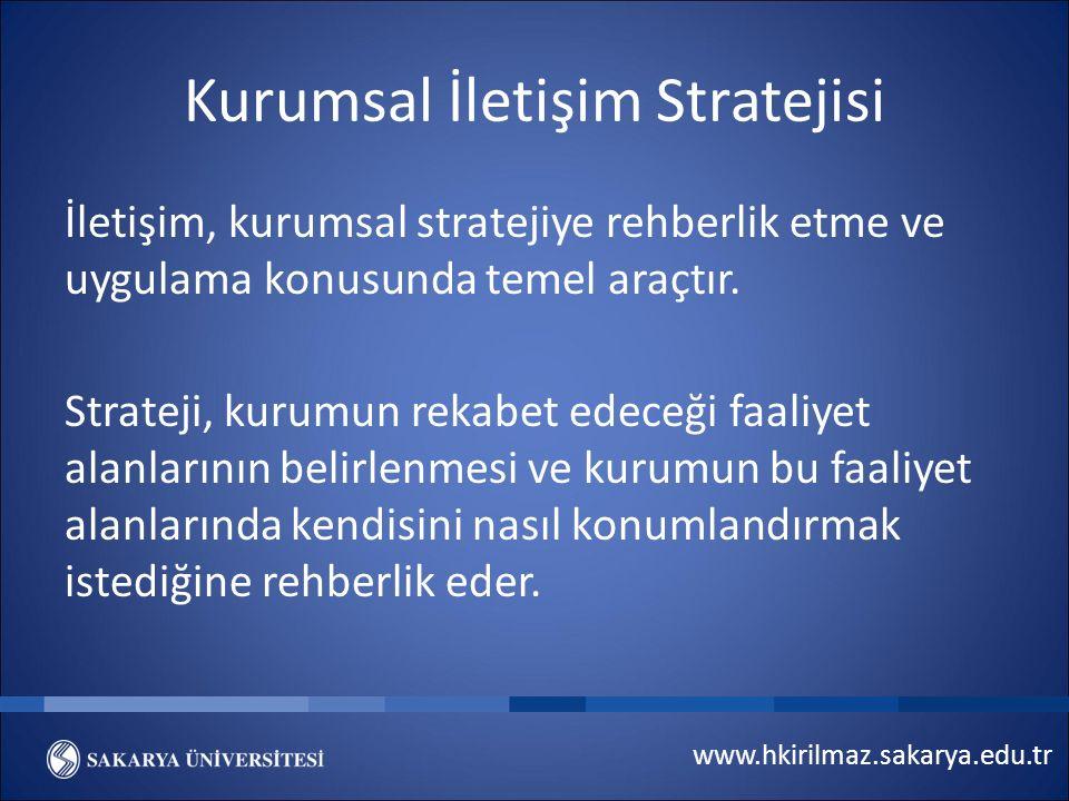 Kurumsal İletişim Stratejisi