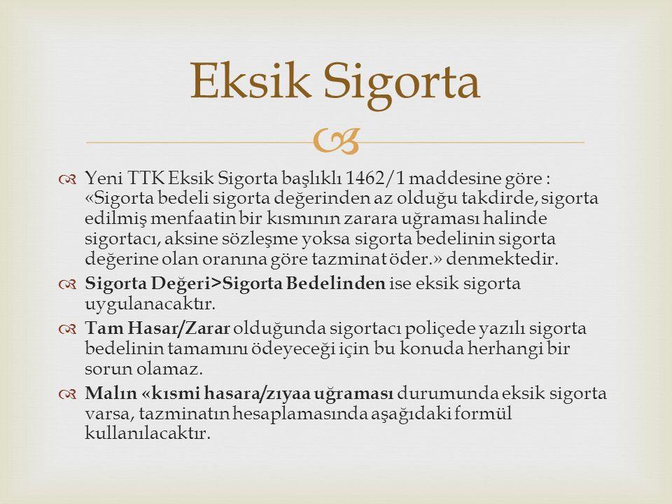 Eksik Sigorta