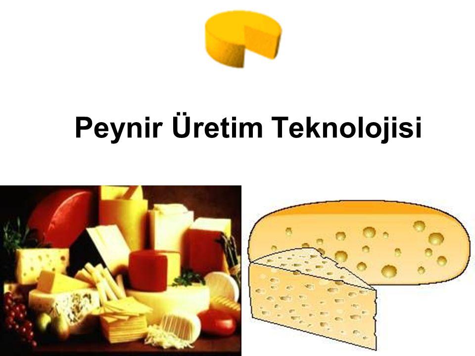 Peynir Üretim Teknolojisi