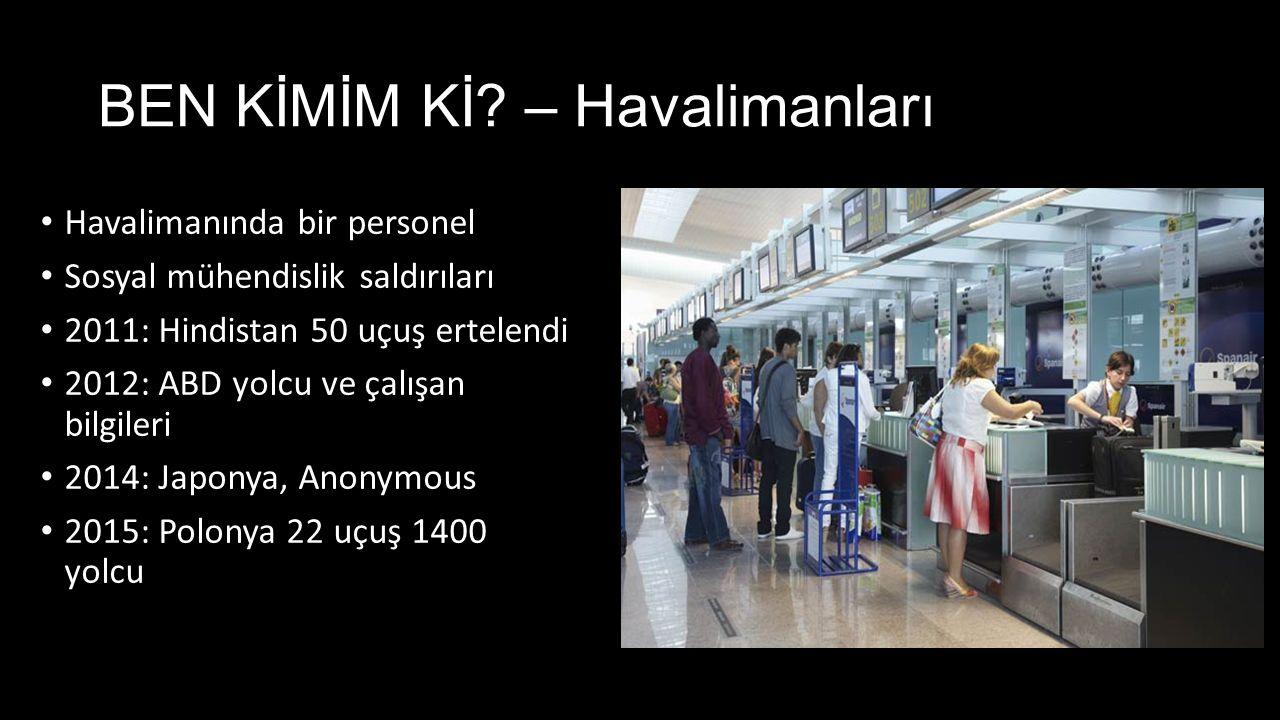 BEN KİMİM Kİ – Havalimanları