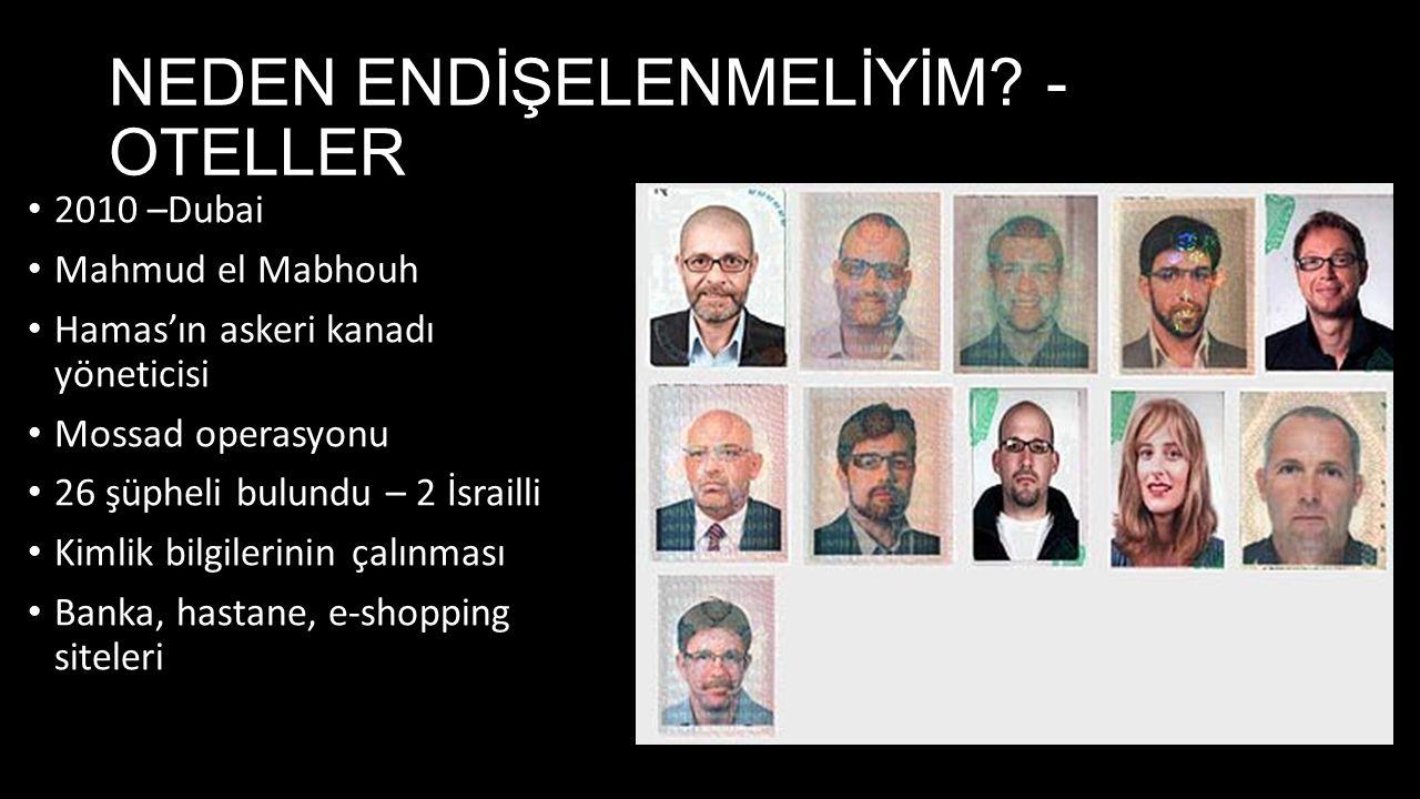 NEDEN ENDİŞELENMELİYİM - OTELLER