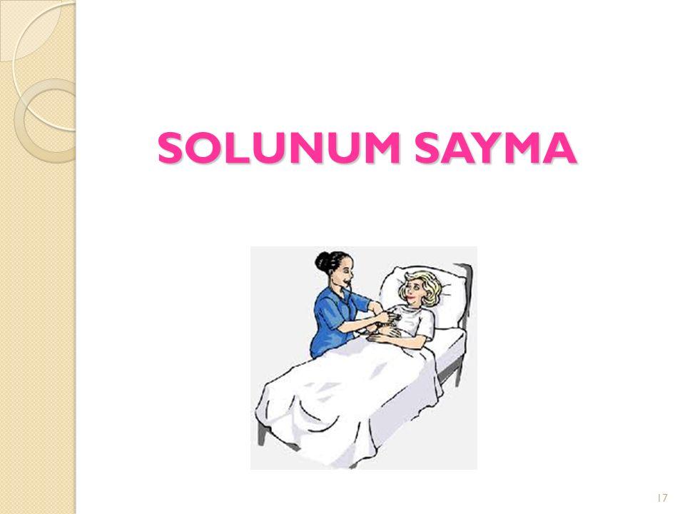 SOLUNUM SAYMA