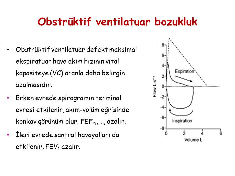 Obstrüktif ventilatuar bozukluk