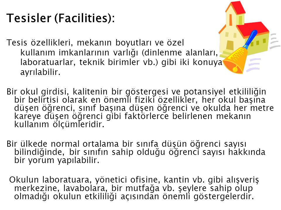 Tesisler (Facilities):