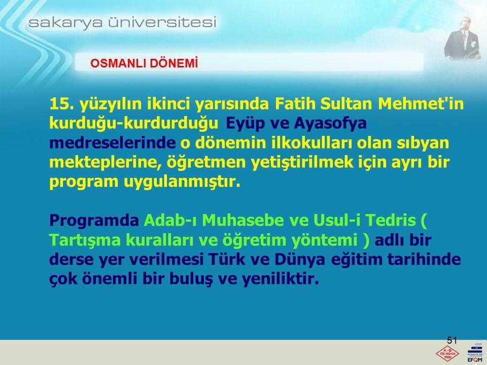 OSMANLI DÖNEMİ