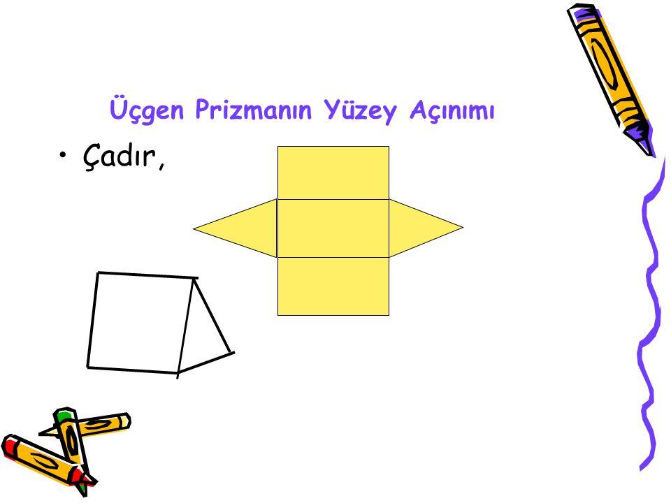 Üçgen Prizmanın Yüzey Açınımı