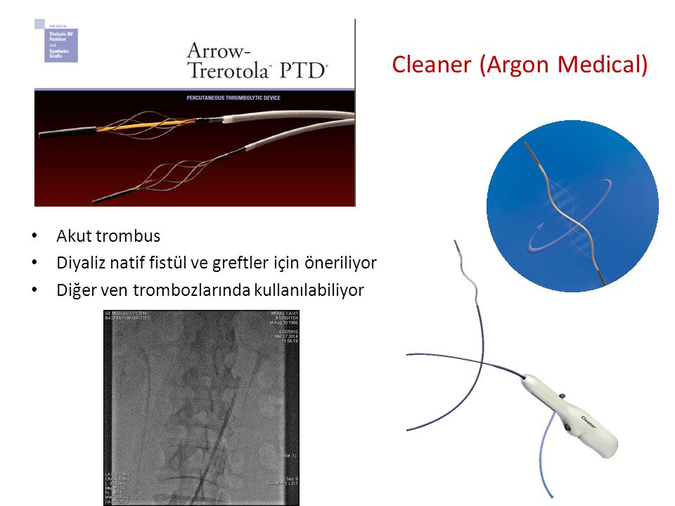 Cleaner (Argon Medical)