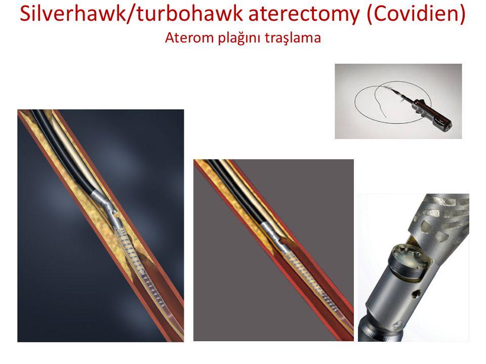 Silverhawk/turbohawk aterectomy (Covidien) Aterom plağını traşlama