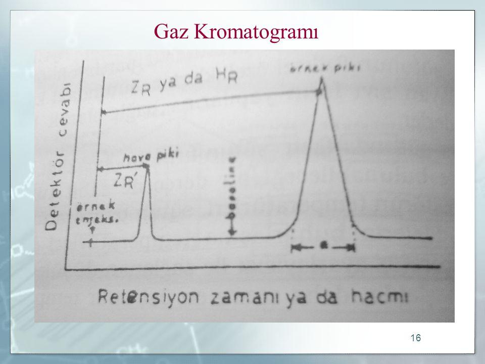 Gaz Kromatogramı