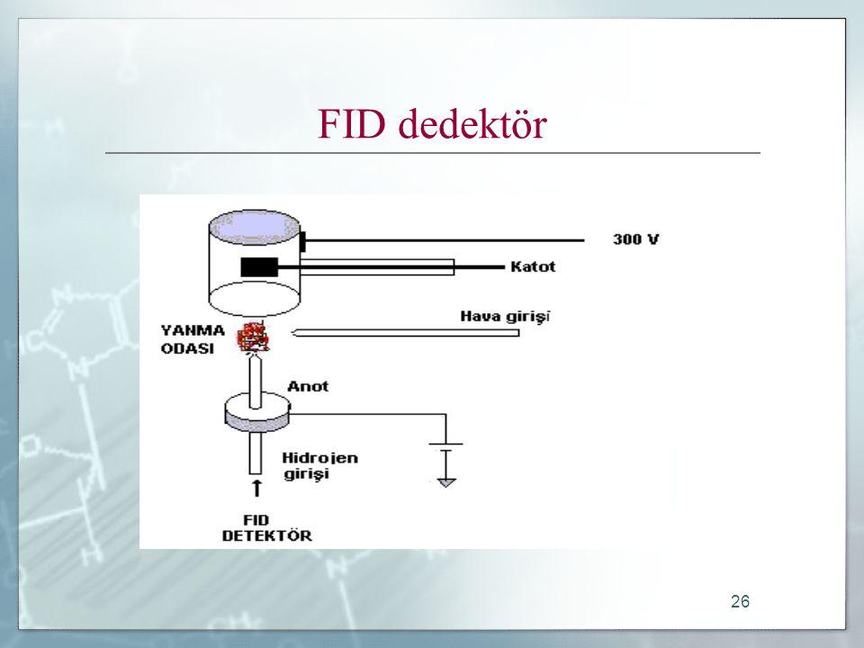 FID dedektör
