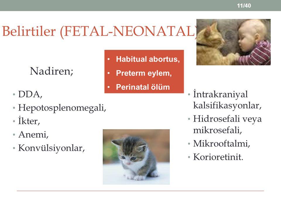 Belirtiler (FETAL-NEONATAL)