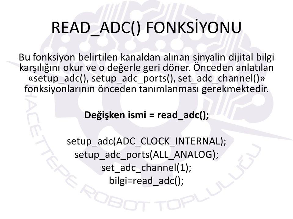 READ_ADC() FONKSİYONU