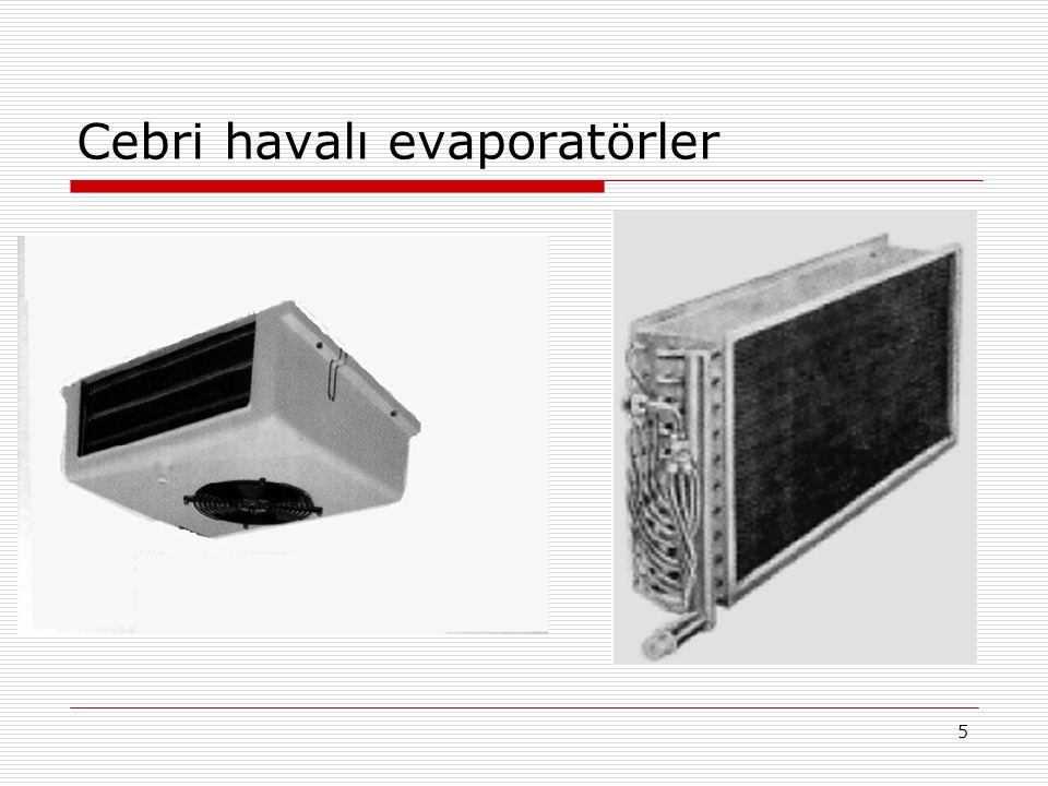 Cebri havalı evaporatörler