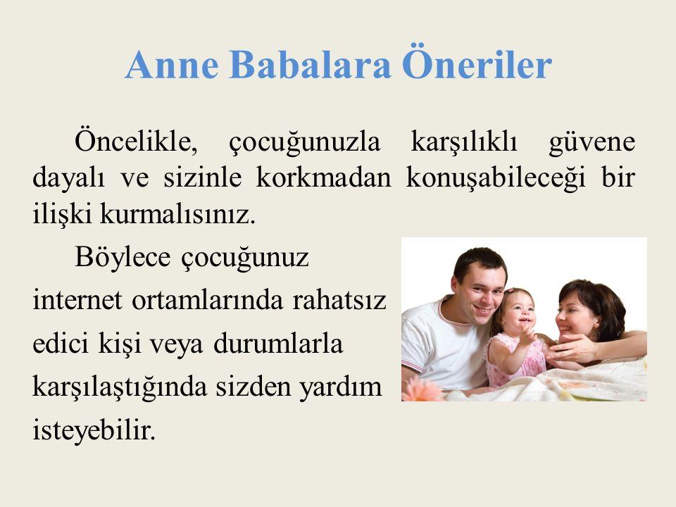 Anne Babalara Öneriler