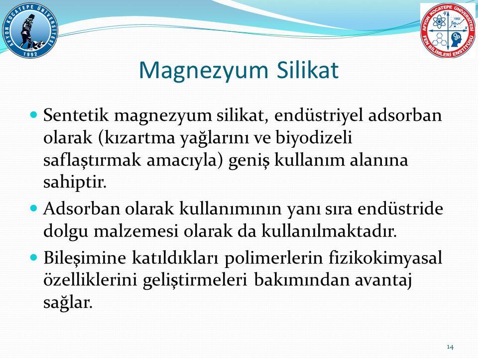 Magnezyum Silikat
