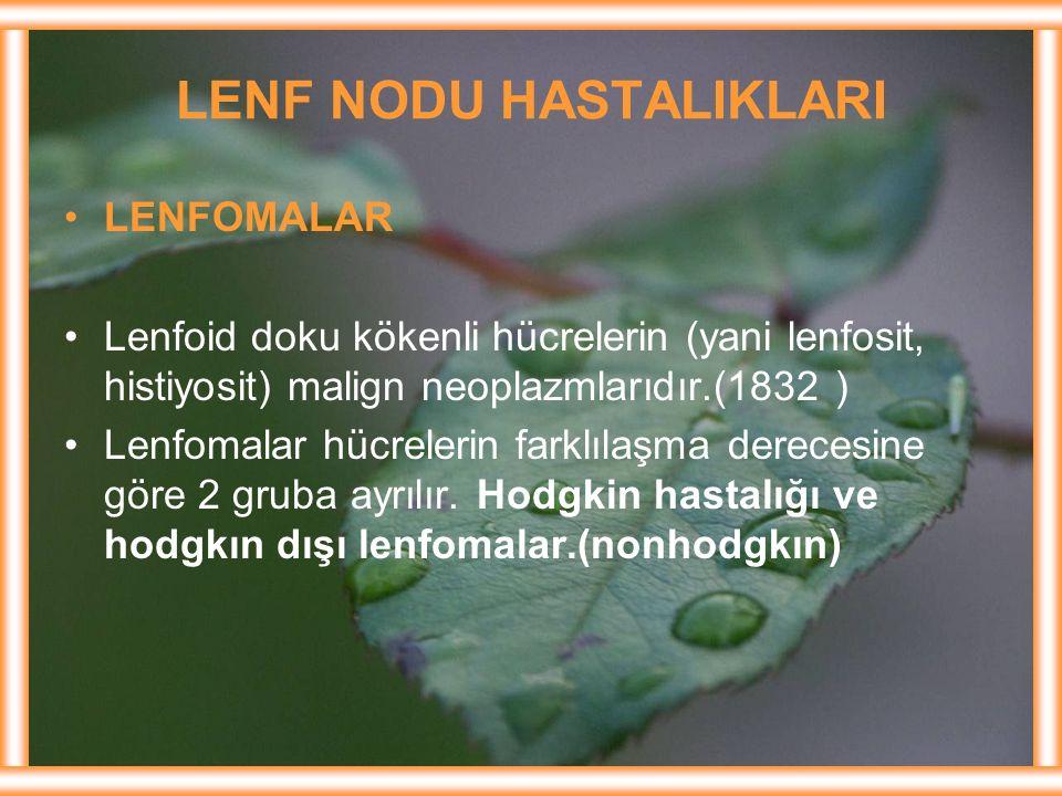 LENF NODU HASTALIKLARI