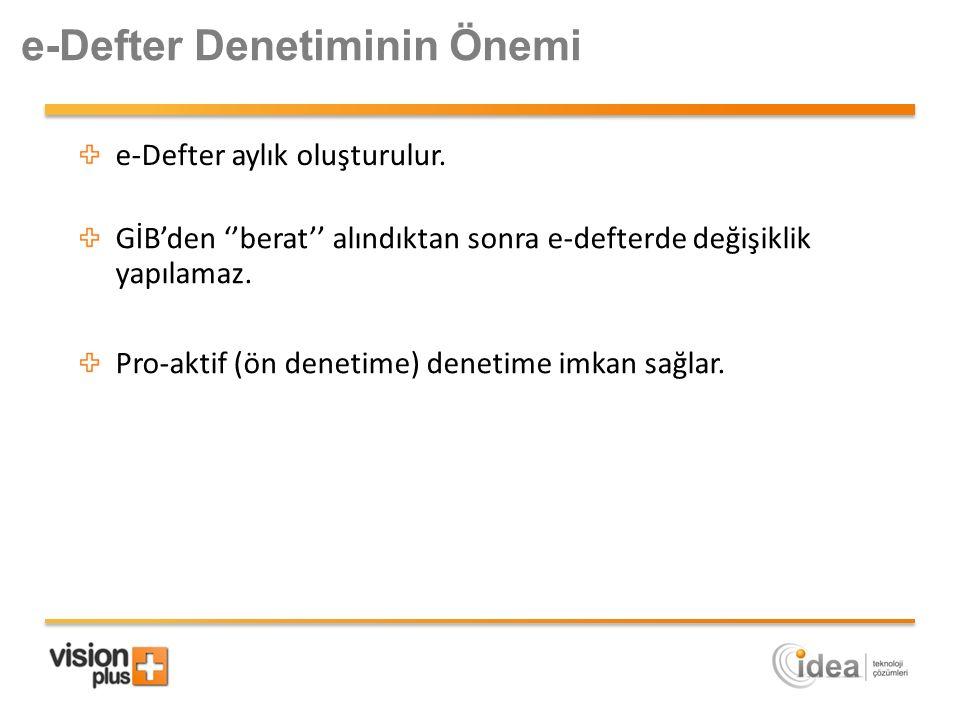 e-Defter Denetiminin Önemi