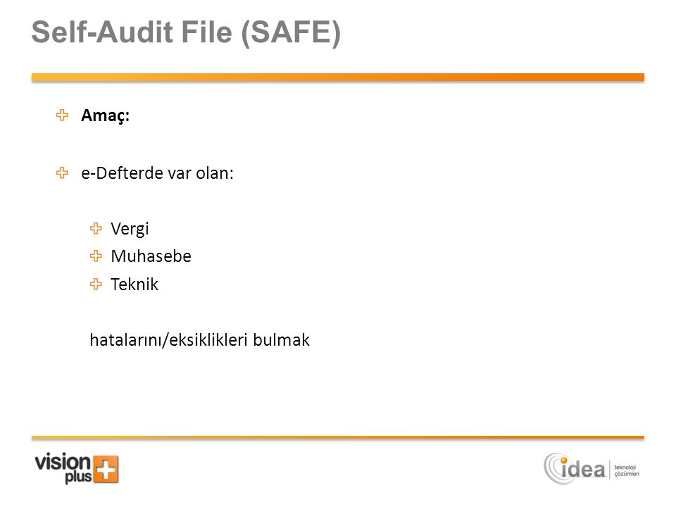 Self-Audit File (SAFE)