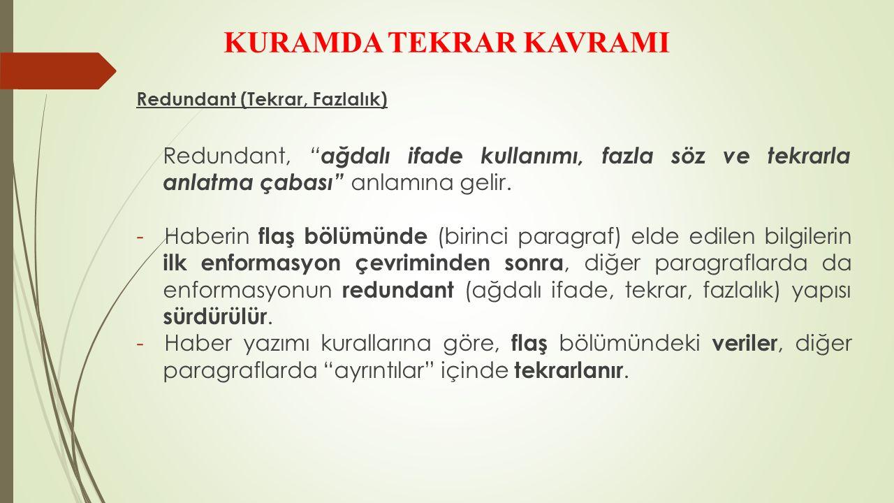 KURAMDA TEKRAR KAVRAMI