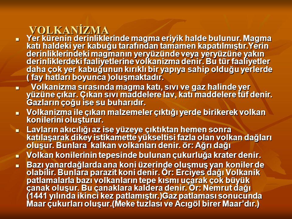 VOLKANİZMA