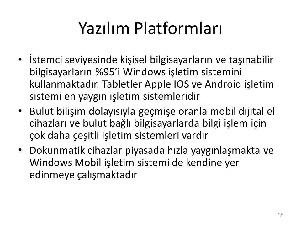 Yazılım Platformları