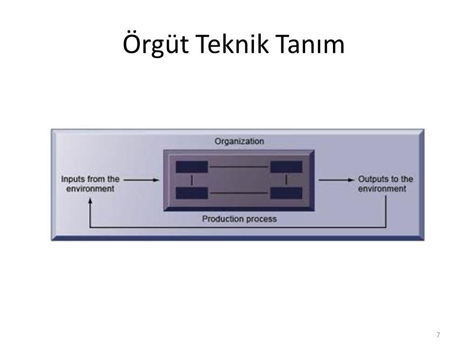 Örgüt Teknik Tanım